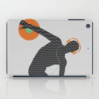 lorde iPad Cases featuring Vinylbolus by Sitchko Igor