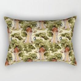 treehouse florest Rectangular Pillow