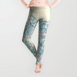 Mermaid Dreams Mandala Leggings