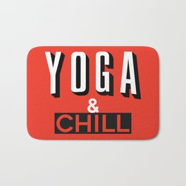 Yoga & Chill Bath Mat