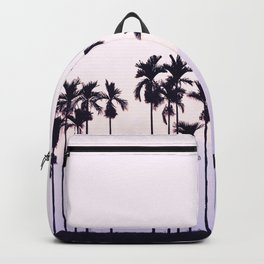 Palm Trees On Pink Sky Backpack