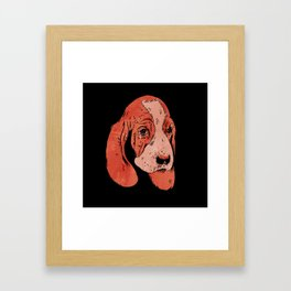 Sad Dogs Club Framed Art Print