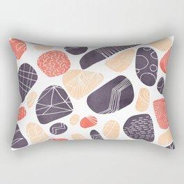 Decorative Pebbles Rectangular Pillow