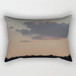 Hazy Clouds Rectangular Pillow