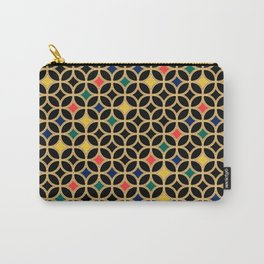 Cathedral Window Carry-All Pouch