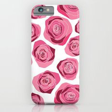Roses are pink Slim Case iPhone 6s