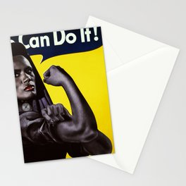 James Bond Characters: Max Zorin's Bodyguard/Lover, May Day (Grace Jones) in A View To A Kill Stationery Cards