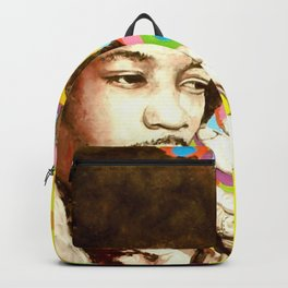 Jimi Hendrix (Peace & Love) Backpack