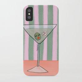 Flirty Martini iPhone Case
