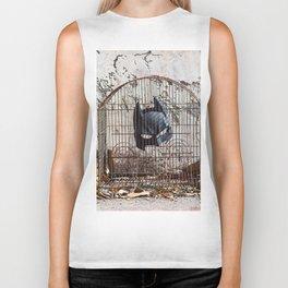 Caged bird Biker Tank