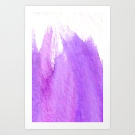 Ode to Radiant Orchid Art Print