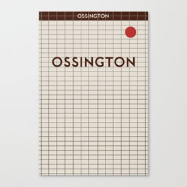 OSSINGTON | Subway Station Canvas Print