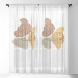 Antique Feeling #6 Sheer Curtain