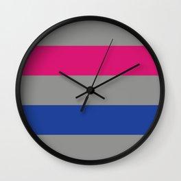 Androgynous Flag Wall Clock