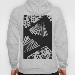 wavy circle pattern design Hoody