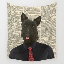 Sir Scottie Wall Tapestry