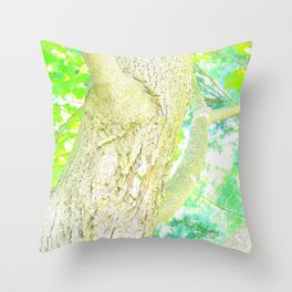 The Tree From My Backyard  Throw Pillow