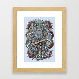 The Sailor & the Syren Framed Art Print