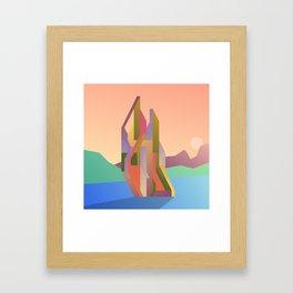 Maskine 7 Framed Art Print