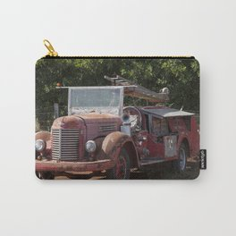 Antique Fire Truck Carry-All Pouch