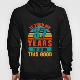 37th Birthday Gifts for Men Women 37 Years Old Gift Hoody