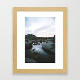 Rams Head Sunrise I Framed Art Print