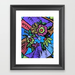 Pastel Joy Framed Art Print