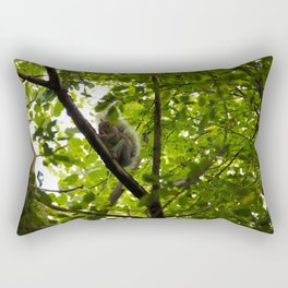 Peek a boo Squirrel Rectangular Pillow