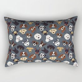 Canine Collective Rectangular Pillow