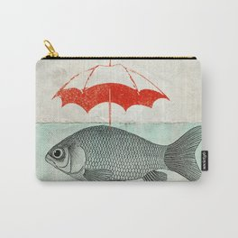 Umbrella Goldfish Carry-All Pouch