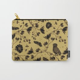 Orchid Owl Yellow Carry-All Pouch