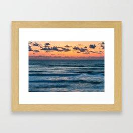 Ten Mile Sunset Framed Art Print