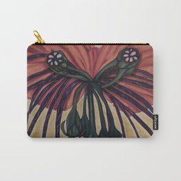 Batwing Orchid Carry-All Pouch