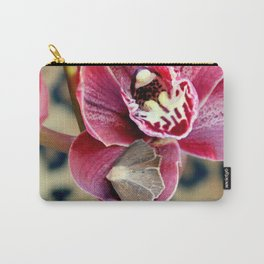 Oddly, Not A Moth Orchid Carry-All Pouch