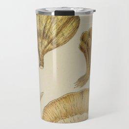 Naturalist Mushrooms Travel Mug