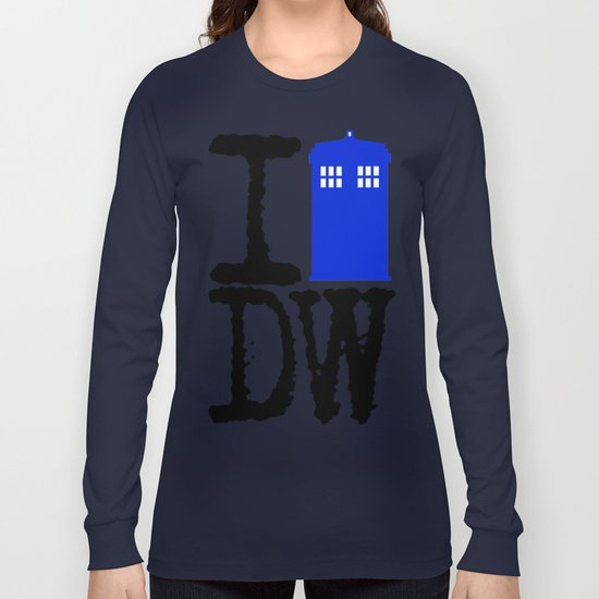 I Love Doctor Who! Long Sleeve T-shirt