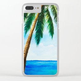 Sea scenery #5 Clear iPhone Case