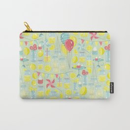 Lemonade Party Carry-All Pouch