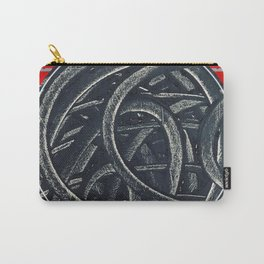 Junction - red graphic Carry-All Pouch