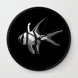 Banggai cardinalfish Wall Clock