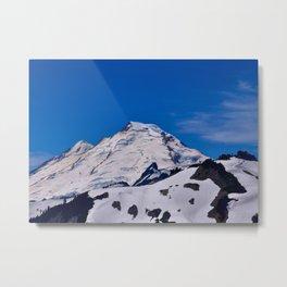 Mt Baker Springtime Metal Print