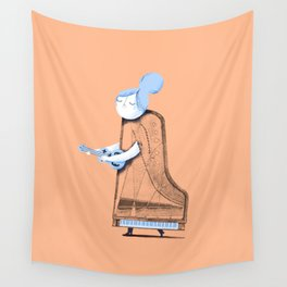 Lady in G Major Wall Tapestry