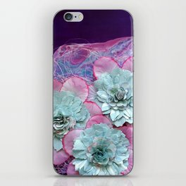 The Power of Flowers iPhone Skin