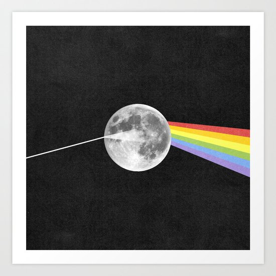 Dark Side of the Moon. by nelsonicboom