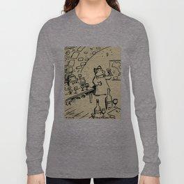 Wine-Tasting Apes Long Sleeve T-shirt