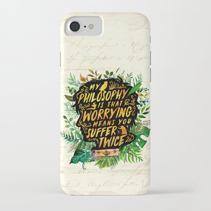newt scamander iphone case