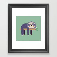 Perezosa Framed Art Print