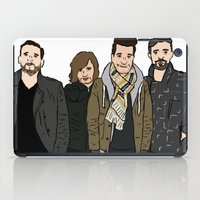 bastille iPad Cases featuring Bastille by wellsi