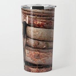 wounded wood Travel Mug