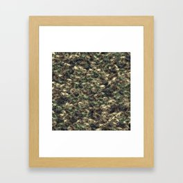 Sloth camouflage Framed Art Print